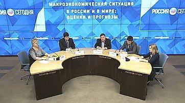 С. Калашников принял участие в«круглом столе» Макроэкономическая ситуация вРоссии ивмире: оценки ипрогнозы вМИА «Россия Сегодня»