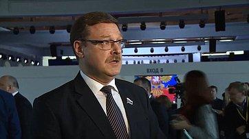 К. Косачев оПослании Президента РФ