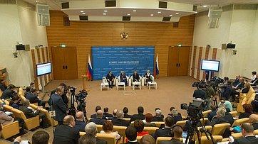 Выступление Председателя СФ назаседании Совета законодателей Российской Федерации