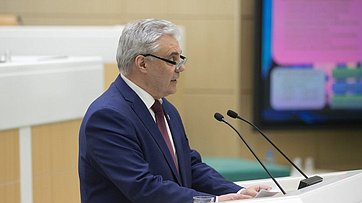 Выступление председателя госсобрания Мордовии В.Чибиркина
