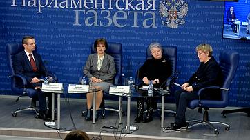 Елена Попова приняла участие пресс-конференции «Как сохранить институт дополнительного образования?» впресс-центре «Парламентской газеты»