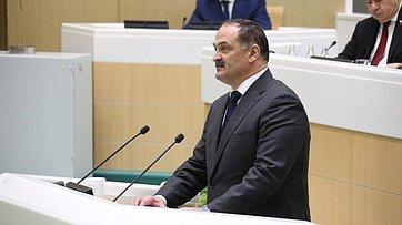 Врамках «Часа субъекта» вСФ выступил руководитель Республики Дагестан