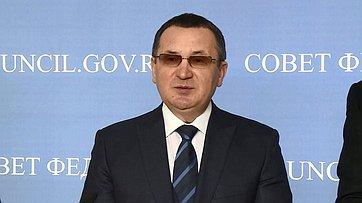 Н. Федоров обитогах VI Рождественских парламентских встреч