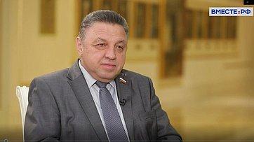 Вячеслав Тимченко опланах работы Комитета СФ поРегламенту иорганизации парламентской деятельности ввесеннюю сессию