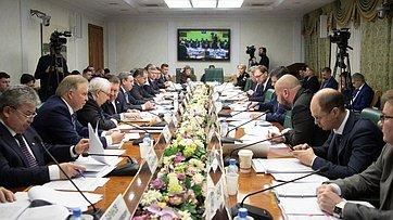 Совещание Комитета СФ пофедеративному устройству, региональной политике, местному самоуправлению иделам Севера. Запись трансляции от5декабря 2019года