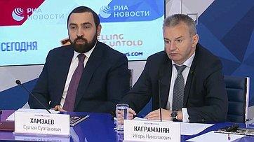 Игорь Каграманян принял участие впресс-конференции, приуроченной кВсемирному дню без табака, впресс-центре МИА «Россия сегодня»
