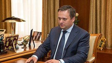 Встреча В.Матвиенко сврио губернатора Новгородской области А.Никитиным