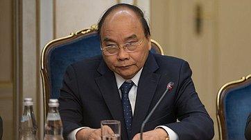 Встреча В.Матвиенко сПремьер-министром Правительства Социалистической Республики Вьетнам Нгуен Суан Фуком