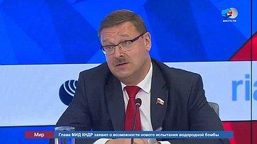 Количество участников ассамблеи МПС вПетербурге еще может вырасти— К.Косачев