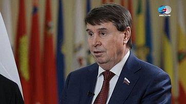 С. Цеков опутях сотрудничества Крыма иМордовии