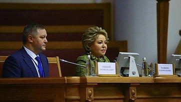 Выступление В.Матвиенко напятидесятом пленарном заседании МПА СНГ