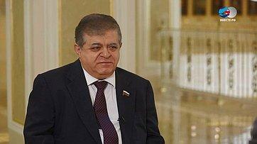 В. Джабаров окомпромиссах поДонбассу