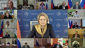 Выступление Валентины Матвиенко назаседании Совета при Президенте Российской Федерации пореализации государственной политики всфере защиты семьи идетей