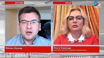 О. Ковитиди опандемии коронавируса иситуации вРеспублике Крым
