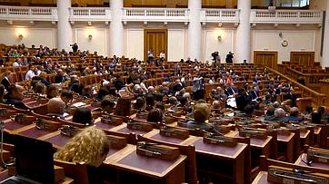 Выступление В. Матвиенко нафоруме «Евразийская экономическая перспектива»