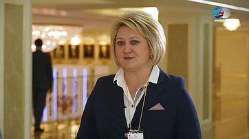 Л. Гумерова оVI Межпарламентском форуме «Россия иТаджикистан: потенциал межрегионального сотрудничества»