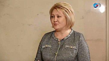Л. Гумерова:Соглашение осотрудничестве Совета Федерации иРоссийской академии наук