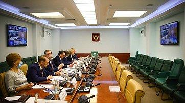 Заседание Совета повопросам агропромышленного комплекса иприродопользования при СФ. Запись трансляции от16июля 2020года