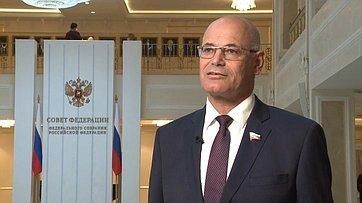 Комментарий Владимира Круглого поитогам встречи Президента РФ ссенаторами