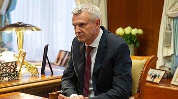 Встреча Председателя СФ сгубернатором Магаданской области