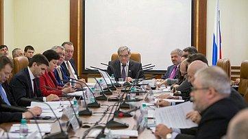 Председатель  Экспертного совета по Арктике и Антарктике В. Штыров провел заседание Президиума совета