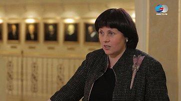 Е. Афанасьева обVI Рождественских парламентских встречах