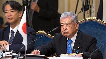 Встреча В. Матвиенко сПредседателем Палаты советников Парламента Японии Т.Датэ