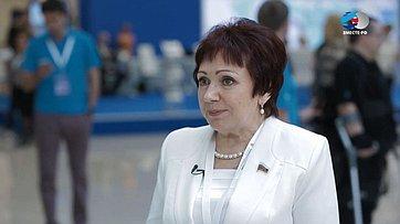 Е. Бибикова оВтором Форуме социальных инноваций регионов