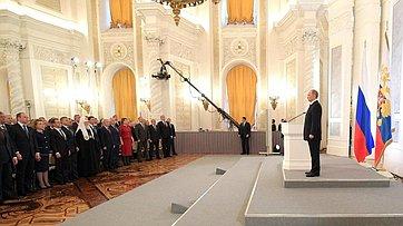 В. Матвиенко оПослании Президента России
