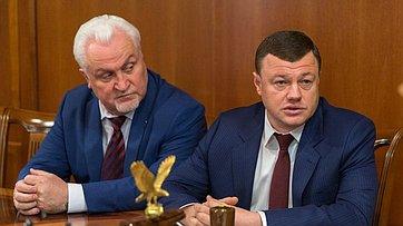 Встреча В. Матвиенко сруководителями Тамбовской области