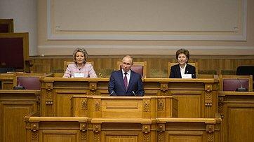 Открытие заседания Второго Евразийского женского форума «Женщины заустойчивое развитие глобального мира»