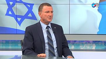 Председатель Кнессета Израиля Ю. Эдельштейн одвусторонних межпарламентских отношениях России иИзраиля