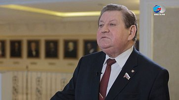 В. Литюшкин оДнях Республики Мордовия вСовете Федерации