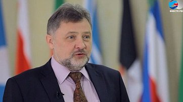 В. Шверикас оДнях Адыгеи вСовете Федерации