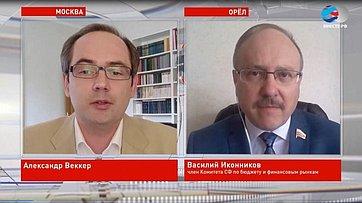 В. Иконников опредложениях законодателей поподдержке пенсионеров