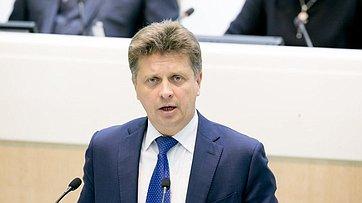 В Совете Федерации состоялось выступление Министра транспорта РФ М.Соколова о работе системы