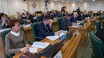 Заседание Совета порегиональному здравоохранению при СФ. Запись трансляции от7февраля 2018г