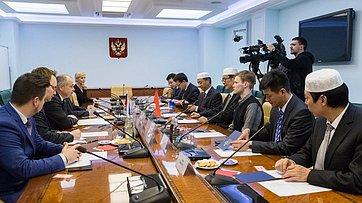 Встреча И. Умаханова свице-президентом Китайской исламской ассоциации Х.Чанъю
