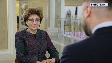 Галина Карелова опрограмме «Женщина— лидер»