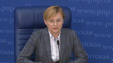 Людмила Бокова приняла участие впресс-конференции впресс-центре «Парламентской газеты»