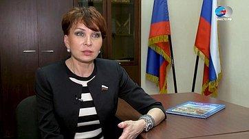 Знакомьтесь, сенатор Т. Кусайко. Передача телеканала «Вместе-РФ»