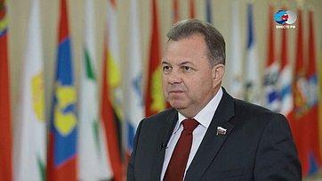 В. Павленко обитогах Дней Архангельской области вСовете Федерации