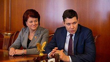 Встреча В.Матвиенко сруководителями Калининградской области