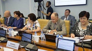 Заседание Комитета СФ посоциальной политике. Запись трансляции от27июля 2018г