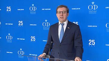 А. Майоров овстрече сПредседателем Правительства РФ Д.Медведевым