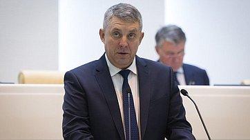 Входе «Часа субъекта» вСФ выступили губернатор Брянской области А.Богомаз иглава регионального заксобрания В. Попков