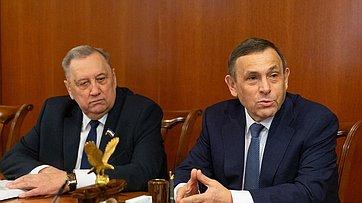 Встреча В. Матвиенко сруководством Марий Эл