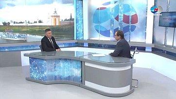 Губернатор Вологодской области О. Кувшинников осоциально-экономическом развитии региона
