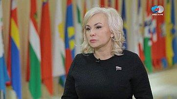 О. Ковитиди обитоговой пресс-конференции В. Путина