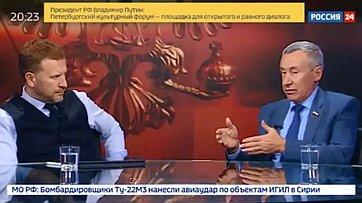Изменения взаконе обиностранных агентах. Программа «Сенат» телеканала «Россия 24»
